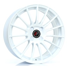 2FORGE ZF1  17x7.5 17x8.0 17x9.0 17x9.5 WHITE