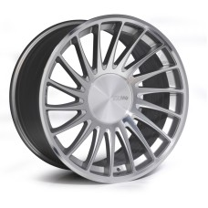 3SDM 0.04 20x9.0 20x10.5 5x112 or 5x120 SILVER POLISHED