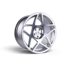 3SDM 0.08 20x9.0 20x10.5 5x120  Silver Polished