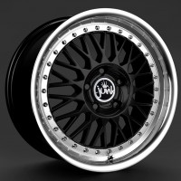 JUNK D4VE 17x7.5 4x100 ET35 BLACK POLISHED