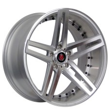 AXE EX20  20x8.5 20x10.0 SILVER POLISHED FACE + BARREL