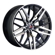 AXE EX30 20x10.0 ET25/ET42 BLACK POLISHED