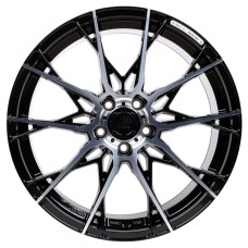 B52 X1 19x8.5 5x112 ET45 BLACK POLISHED