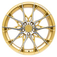 B52 X1 19x8.5 5x112 ET45 GOLD POLISHED