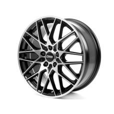 CMS C25 19x8.0 5x114.3 ET45 67.1BLACK POLISHED