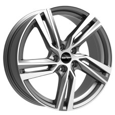 ARCAN 19x7.5 5x114.3 ET50 GUNMETAL POLISHED FACE