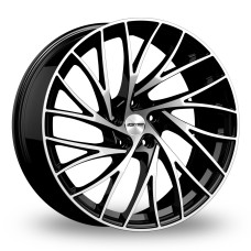 GMP ENIGMA 19x8.0 5x114.3 ET45 GLOSS BLACK POLISHED FACE