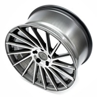 KESKIN KT17 18x8.0 5x100 ET30 PALLADIUM GUNMETAL POLISHED FACE