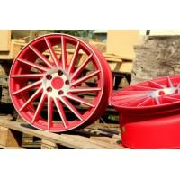 KESKIN KT17 19x8.5 5x112 ET45 Red Polished