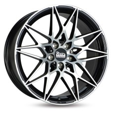 MAM B2 19x8.5 5x112 ET30/ET45 BLACK POLISHED