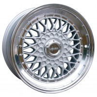 LENSO BSX 16x7.5 ET35 SILVER POLISHED