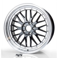 ULTRA WHEELS LM UA3 19x8.5 5x108 ET40 BLACK POLISHED