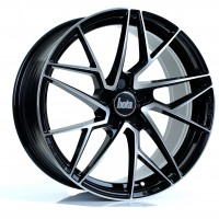 BOLA FLR 18x8.5 GLOSS BLACK POLISHED